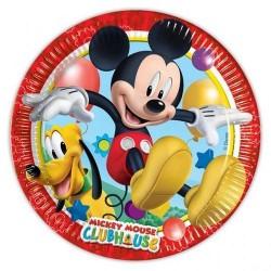 Mickey Club House Dessert Plates