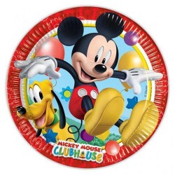 Piatti Topolino Mickey Club House