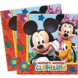 Tovaglioli Topolino Mickey Club House
