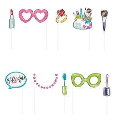 Spa Party or Beauty Party Photo Props