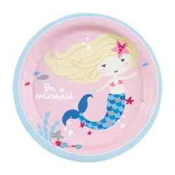Be a Mermaid Plates