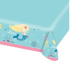 Be a Mermaid Tablecover - Mermaids Party