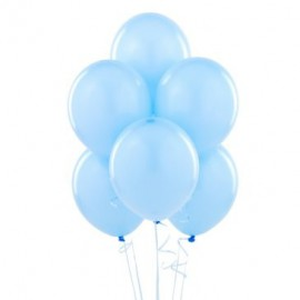 Light Blue Latex Balloons 10pc