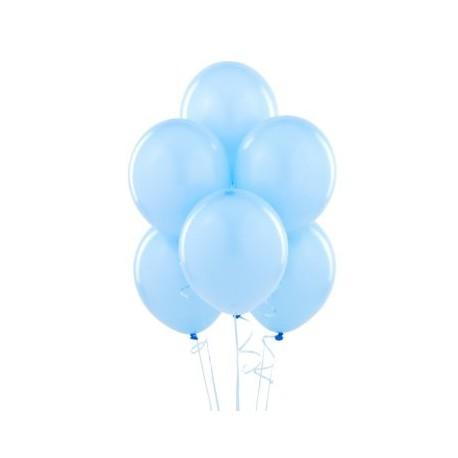 Palloncini lattice Azzurro 30cm 15pz