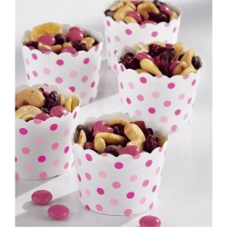 Pink Dots Treat Cups
