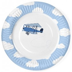 Little Plane Party Plates