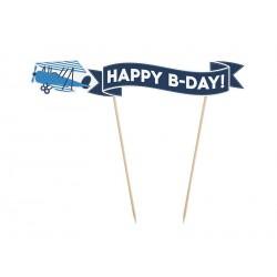 Cake Topper Aeroplano
