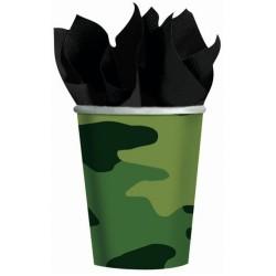 Bicchieri Mimetici Festa Camouflage