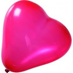 Palloncini a forma di cuore rosso