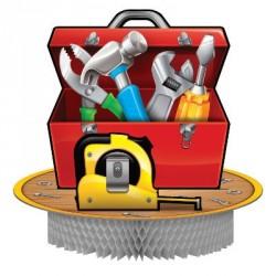 Handyman Tools Box Centerpiece