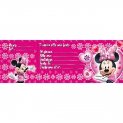 Biglietti Invito Minnie