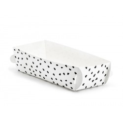 White and Black Dots Treat Cases