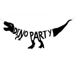 """Dino Party """"Grrrrr"""" Banner"""