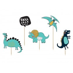"Cake Toppers Dino Party ""Grrrrr"""