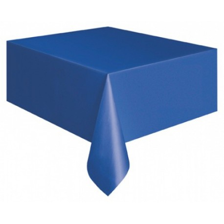 Tovaglia Plastica Blu 137x274cm