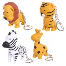Jungle Animals Keychains