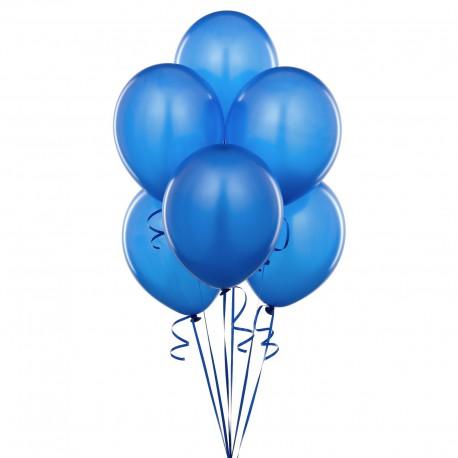 Piatti Palloncini Blu 22cm 8pz