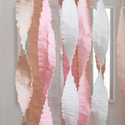 Ghirlande carta crespa Mix Pastel