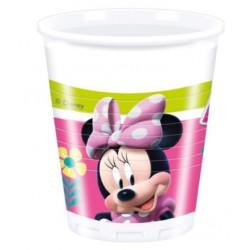 Bicchieri Minnie Happy Helpers