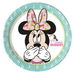 Minnie Tropical Dessert Plates