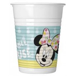 Minnie Tropical plastic Cups