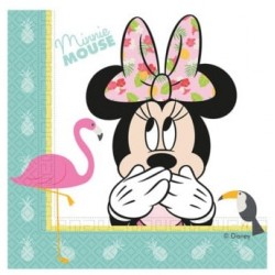 Minnie Tropical Napkins