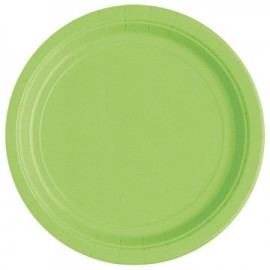 Lime Green Paper Dinner Plates