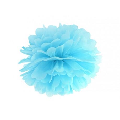 Sky Blue Paper Pon Pon