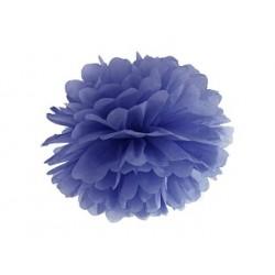 Navy Blue Paper Pon Pon