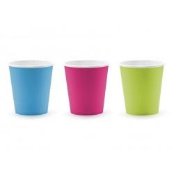 Bicchieri in carta colori assortiti