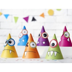 Monsters Party Hat Set