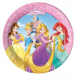 Princess Heart Strong Plates