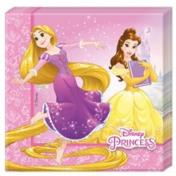 Princess Heart Strong Napkins - Disney Princesses Napkins