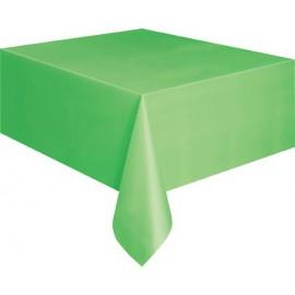 Tovaglia Plastica Verde 137x274cm