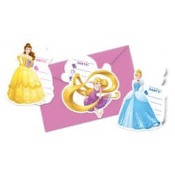 Inviti Compleanno Principesse Disney Heart Strong