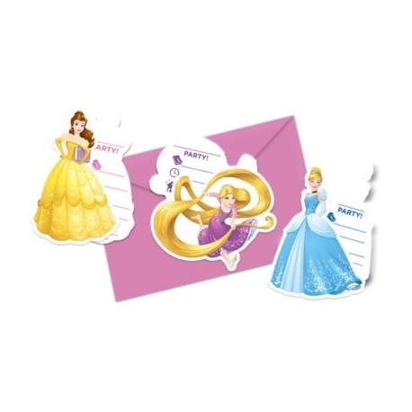 Inviti Compleanno Principesse Disney Heart Strong