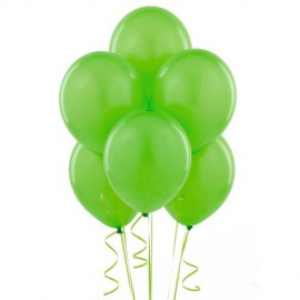 Lime Green Latex Balloons 10pc