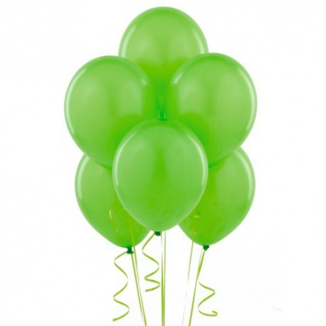 Palloncini lattice Verde 30cm 15pz