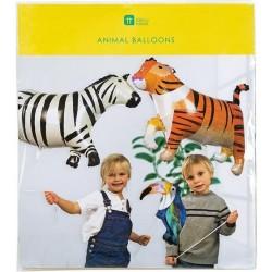 Set Palloncini Animali Giungla