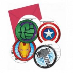 Inviti Compleanno Avengers