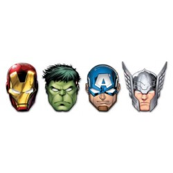 Maschere festa Avengers