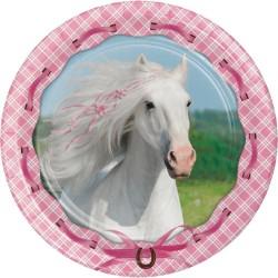 Horses Dessert Plates