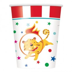 Circus Carnival Cups
