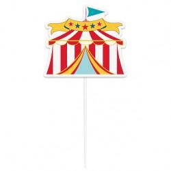 Cake Topper Tenda Circo