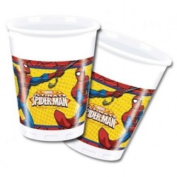 Ultimate Spiderman plastic Cups