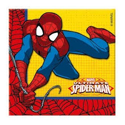 Ultimate Spiderman Napkins