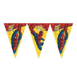 Ultimate Spiderman Flags Banner