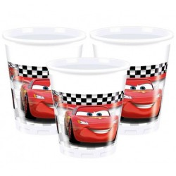 Cars Plastic Cups