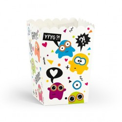 Monsters Party Popcorn Boxes