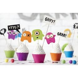 Kit per Cupcake Mostri